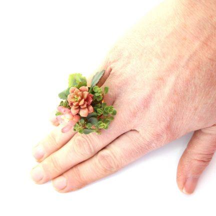 Living Botanical Ring