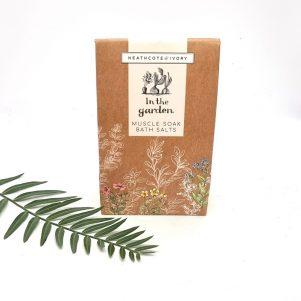 Gardener's Muscle Soak Bath Salts