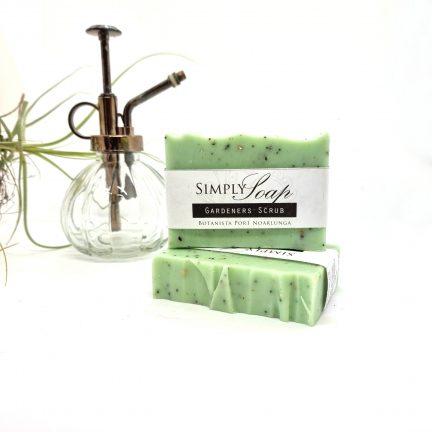 Gardener's scrub soap product