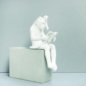 Sitting Shelf Monkey